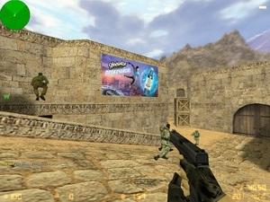 Энергетический напиток  Gladiator  можно встретить в Counter-Strike