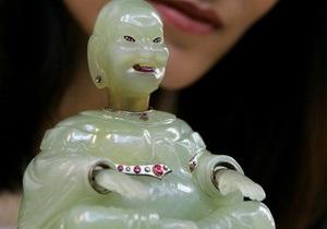 В Музее Фаберже разбилась бесценная статуэтка Будды
