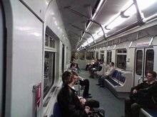 В киевском метро появились вагоны с антивандальными сидениями