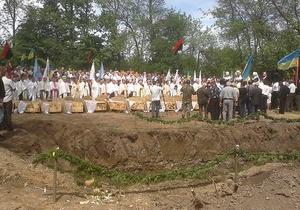 В Ивано-Франковской области перезахоронили останки 640 жертв НКВД