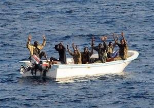 Испанские военные захватили восьмерых сомалийских пиратов
