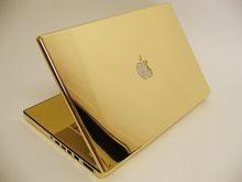 Американцы презентовали золотой Macbook Air