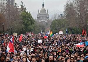 Чилийские студенты вышли на массовые протесты против самого дорогого образования в мире