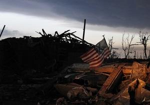 Ущерб от торнадо в Оклахоме предварительно превысил миллиард долларов
