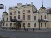 Здание Национальной филармонии страдает от оползней грунта