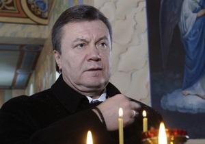 Завтра Янукович помолится в Лавре