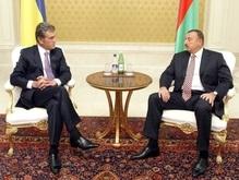 Ющенко и Алиев довольны активизацией сотрудничества двух стран