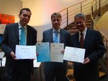 Вручение дипломов выпускникам Нидерландского Института Маркетинга, которое происходило в посольстве Королевства Нидерландов в Украине