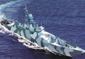 Янукович заложил первое судно класса корвет для ВМС Украины
