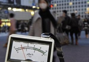 В Токио в два раза повысился уровень радиационного загрязнения воды