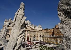 Банк Ватикана подозревают в отмывании денег мафии