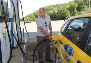 Путину пришлось поменять Ладу-Калину во время поездки из Хабаровска в Читу