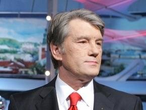 Ющенко поздравил глав иностранных государств с Новым годом