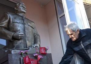 Прокуратура не нашла нарушений в установке памятника Сталину в Запорожье
