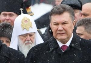 Патриарх Филарет констатирует улучшение отношений с Януковичем
