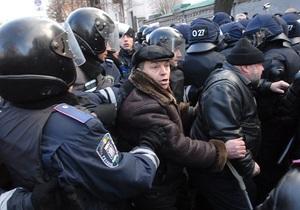 КУПР: Беркут получил приказ во время футбольного матча разогнать чернобыльцев под Кабмином