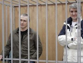 Суд продлил Ходорковскому и Лебедеву срок ареста еще на три месяца