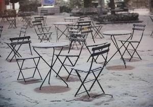 Новости США - непогода в США: Жертвами снегопадов в США стали два человека