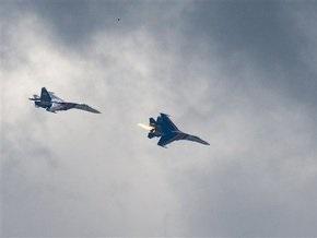 Белорусские и российские летчики отработали бомбовые удары и элементы воздушного боя