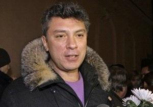 Немцов подвергся нападению в Москве
