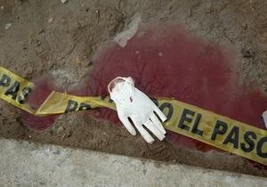 В Мексике в перестрелке полицейских с наркоторговцами погибли 11 человек