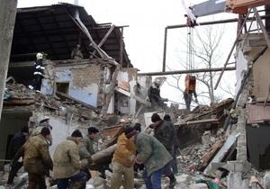Стала известна предварительная причина взрыва в Орджоникидзе