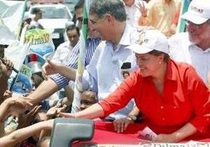 В Бразилии президентом выбрали женщину