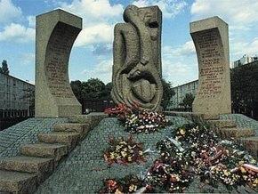 Во Франции осквернили памятник жертвам концлагеря
