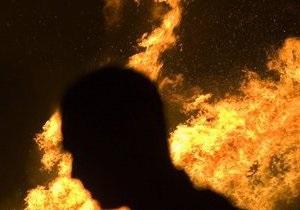 В Черкасской области произошел пожар на одном из избирательных участков