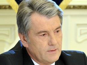Ющенко выразил соболезнования в связи со смертью Эдварда Кеннеди