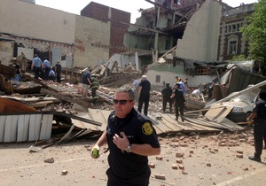 Инспектор, проверявший рухнувшее здание в Филадельфии, застрелился