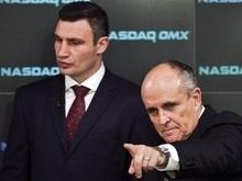 РГ: Рудольф Джулиани станет спарринг-партнером Виталия Кличко
