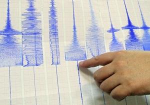 На острове Новая Британия произошло землетрясение