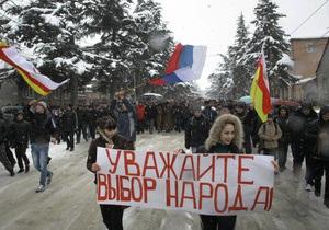 Кокойты пообещал не допустить оранжевой революции в Южной Осетии