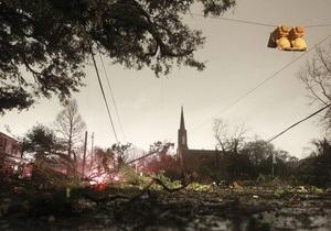 На юг США на Рождество обрушились 15 торнадо. Без света остаются десятки тысяч домов