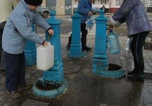 Воду в половине киевских бюветов хотят сделать платной