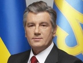 В Раде презентовали памятник Ющенко
