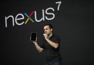 Google представила бюджетный Android-планшет Nexus 7