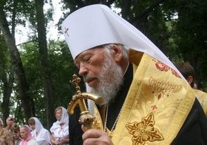 У митрополита Владимира проблемы с системой дыхания