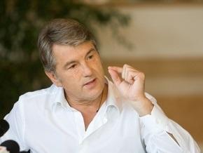 Ющенко: Досрочные выборы являются шансом очистить украинский парламент