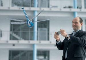 Новости науки - технологии - робототехника: В Германии представили робота-стрекозу