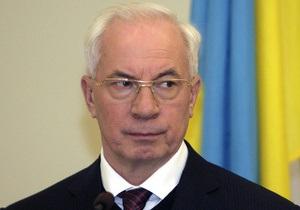 Азаров рассчитывает на участие России в модернизации украинской ГТС