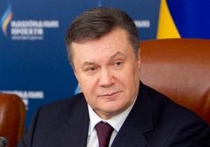 Янукович: У нас хватает людей, которые не дружат с головой