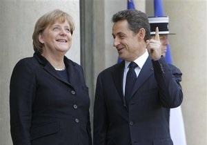 Саркози и Меркель согласовали план выхода из кризиса