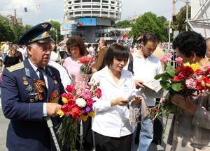Киевстар  поздравил ветеранов и очевидцев войны  с 65 годовщиной Великой Победы