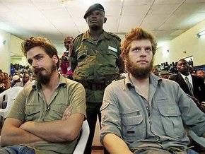 В Конго двое норвежцев приговорены к смертной казни за шпионаж и убийство