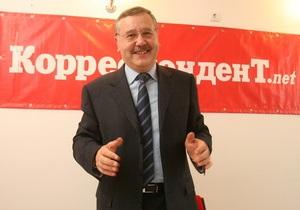 Гриценко призывал Европу не давать визы фальсификаторам местных выборов