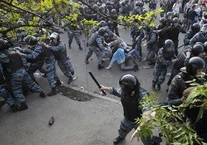 На оппозиционной акции в Москве задержали более 400 человек