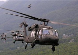 В результате падения американского вертолета в Германии погибли трое военнослужащих