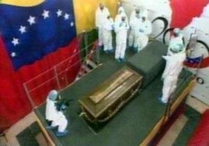В Венесуэле эксгумировали останки Симона Боливара